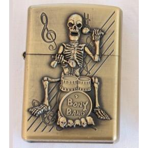 Mechero tipo Zippo esqueleto