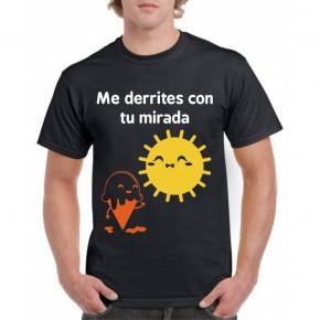 Camiseta Me derrites con tu mirada