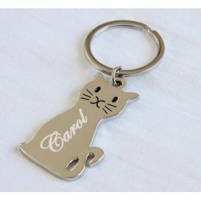 llavero gato personalizado