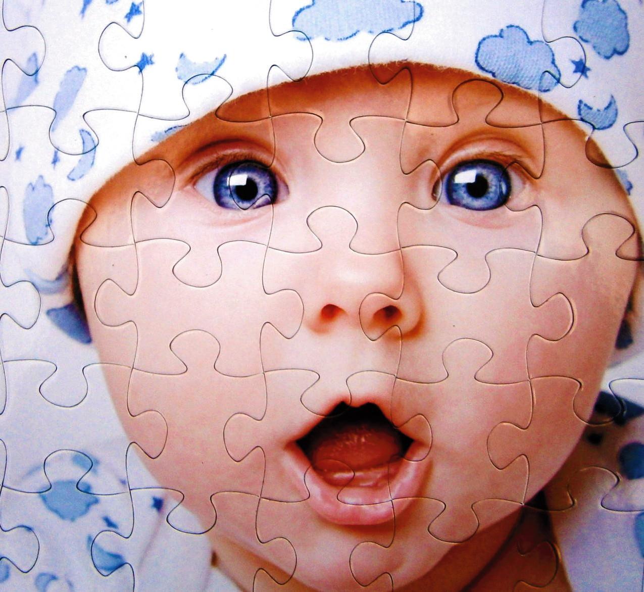 auténtico auténtico comprar elegante en estilo Puzzle con iman personalizado con foto, regalo original para ...