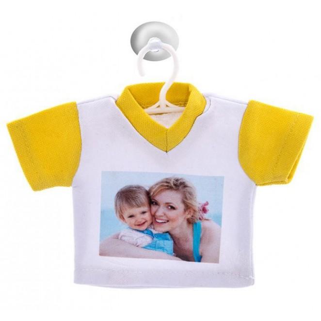 mini camiseta para coche