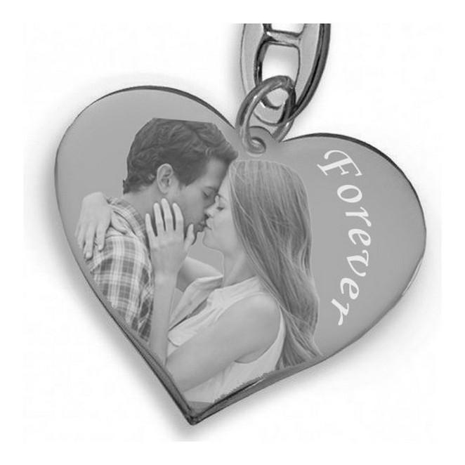 Llavero corazón personalizado