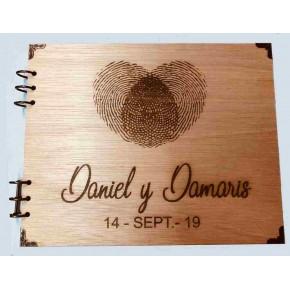 Album de madera personalizado