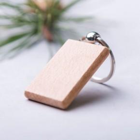 Llavero madera con nombre