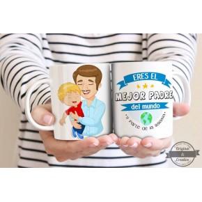 taza regalo para papa
