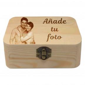 "Caja Madera Con imagen"""