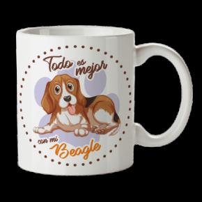 Taza Beagle Personalizada...