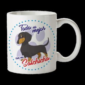 Taza Salchicha...