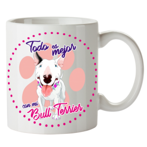 Taza Bullterrier...