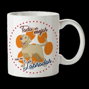 Taza Labrador Personalizada...