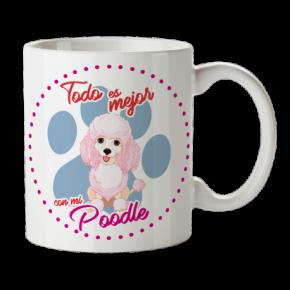 Taza Poodle Personalizada...