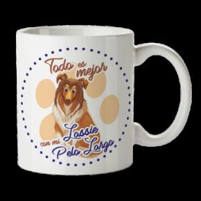 Taza de Café de Lasie Pelo...