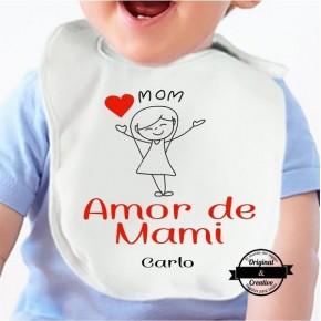 Babero Amor de mami