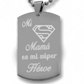 Mi mamá es mi super heroe