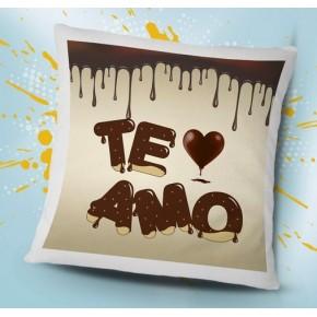 Cojín te amo chocolate