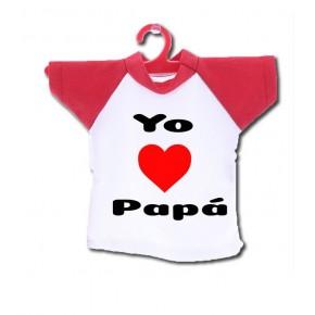 Camiseta coche papá