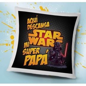 Cojín Star Wars para papá