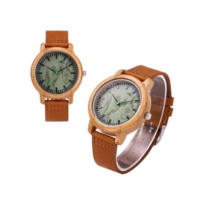 reloj madera hombre