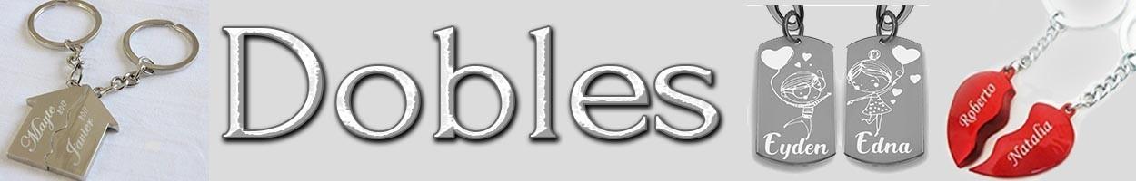 Llaveros Dobles
